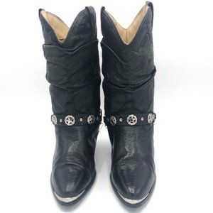 Dingo Pigskin Cowgirl Boots Dancing Boots Size 7M